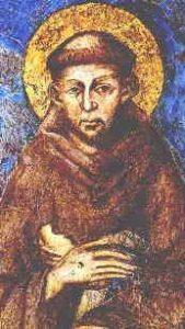 Św. Franciszek z Asyżu, diakon