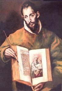 Św. Łukasz, Ewangelista