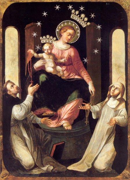 Matka Boża Różańcowa Pompejańska