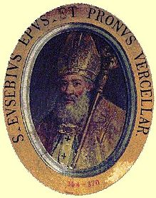 Św. Euzebiusz zVercelli, biskup