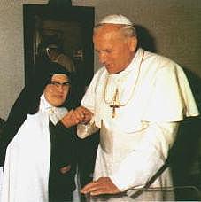 Siostra Łucja iJan Paweł II