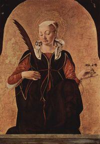 Św. Łucja, dziewica, męczennica