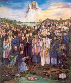 Śwśw. Paweł Mi, Piotr Doung-Lac, Piotr Truat, męczennicy