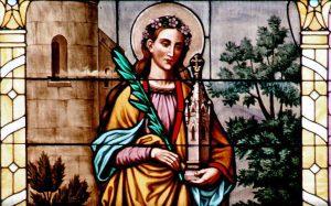 Św. Barbara dziewica, męczennica